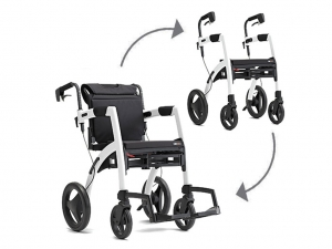 Rollator/Rollstuhl ROLLZ MOTION, 2-in-1