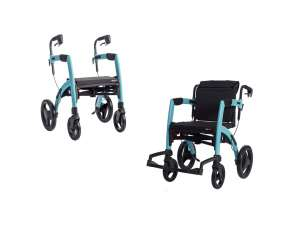 Rollator/Rollstuhl ROLLZ MOTION SMALL, 2-in-1
